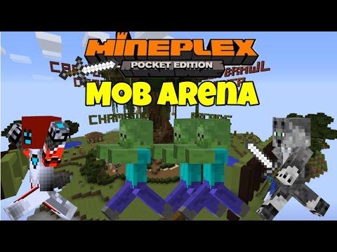 Minigame Mondays Mob Arena w/ blocKotron