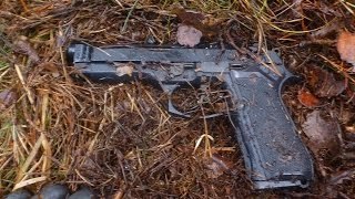 Gun found on special location.