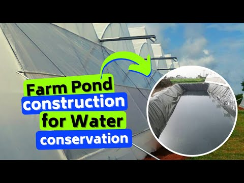 Farm pond construction an important step in water conservation