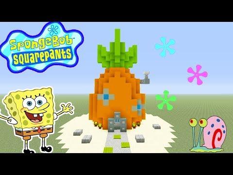 Minecraft Tutorial: How To Make Spongebob Squarepants House