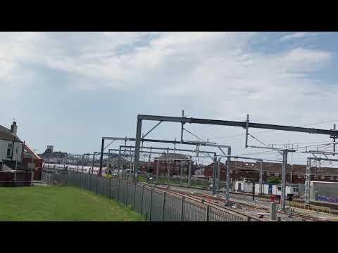 13:02 class 390 Blackpool depot
