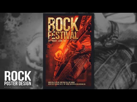 Creating Poster For a Rock Festival in Photoshop CC