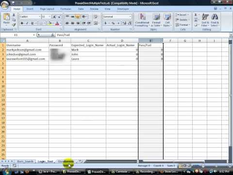 Selenium #1 TestNG, Data From Excel