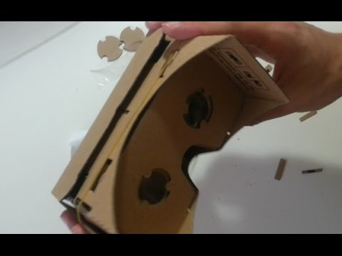 How to build the Google cardboard VR