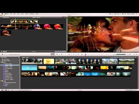 How to blend two clips in iMovie