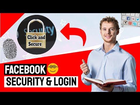 facebook security & login settings tips tutorials 2017