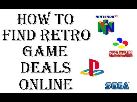 How To Find Retro Game Deals Online - N64, SNES, NES, Sega, Playstation - Ebay