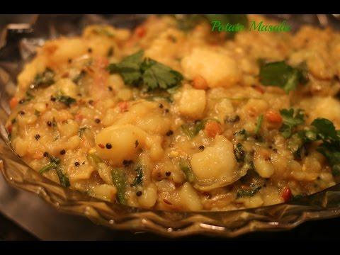 Potato Masala For Chapathi