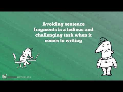 Best Sentence Fragment Checker