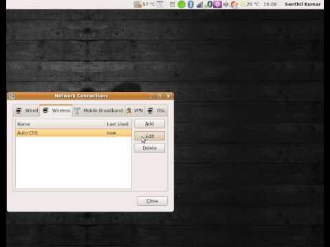 Ubuntu - Enable Automatic Wireless connection