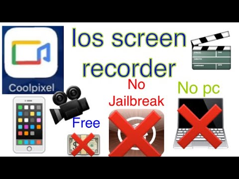 HOW TO RECORD IPHONE,IPAD,IPOD SCREEN FOR FREE.