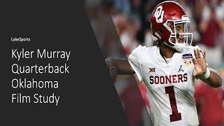 Kyler Murray QB Oklahoma | Film Study | 2019 NFL Draft