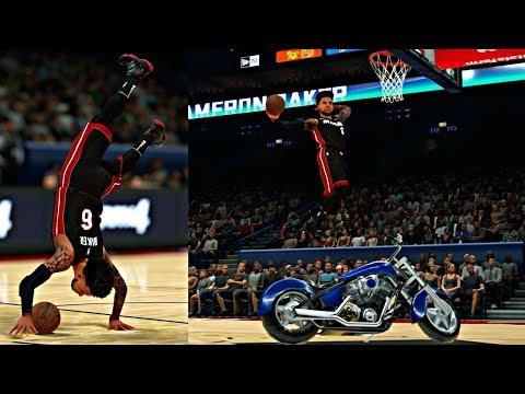 ALL-STAR WEEKEND SLAM DUNK CONTEST! OMG!! CAM KILLED THE BEST DUNK CONTEST EVER! - NBA 2K18 MyCAREER