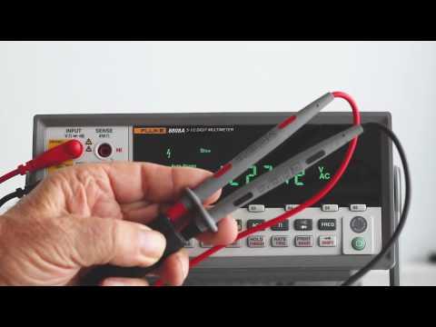 Fluke 8808A Bench-Type Multimeter, Part One