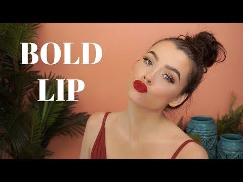 My Go To Bold Lip Look | Maddie Edwards