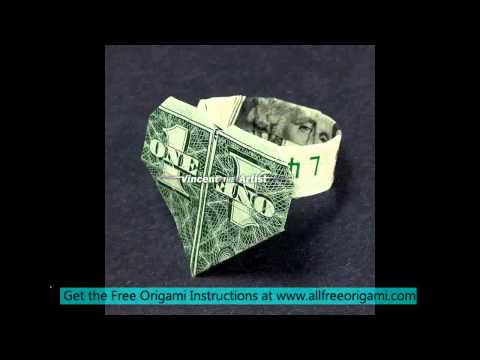 dollar origami scorpion