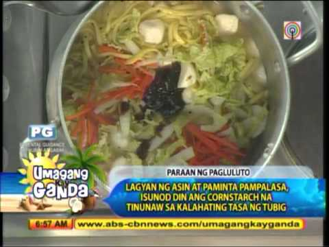 Recipe for Holy Week: Seafood Lomi