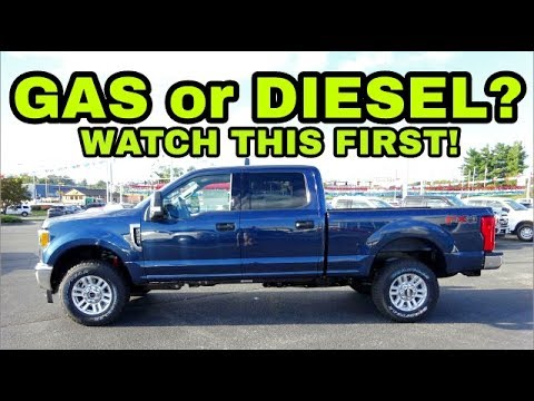 Considering a GAS or DIESEL Pickup? Watch this first!