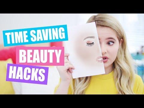 Time-Saving Beauty Hacks!