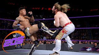 Lio Rush vs. Dewey James: WWE 205 Live, June 26, 2018