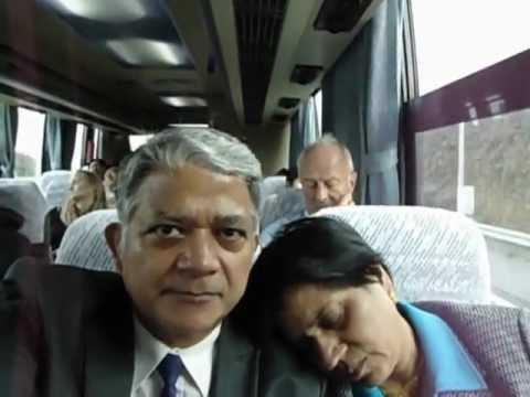Aruna & Hari Sharma from Japan Narita Airport to Tokyo Hotel Niwa Oct 20th, 2011.mov