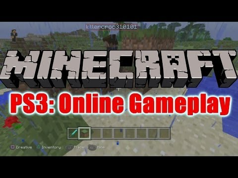 Minecraft PS4  - Online Gameplay (PlayStation 3 Multiplayer)