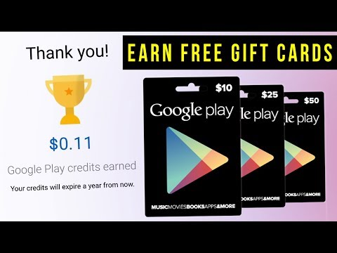 How To Earn Free Gift Cards For Google Play On Your Android Phone! 2018