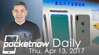 iPhone 8 design leaks, Apple Watch Series 3 secrets & more - Pocketnow Daily