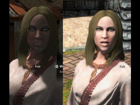 Skyrim Gray Face Fix