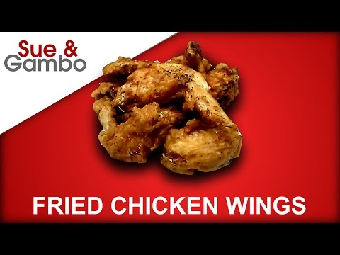 How to Make Fried Chicken Wings Asian/Chinese Style