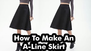 6a2cd7be8 Fashion Illustrations:How To Draw Skirt Part 1 (Easy)   Music Jinni