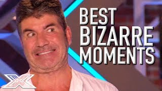 BRILLIANTLY BIZARRE Auditions on X Factor UK!   X Factor Global