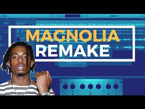 PlayBoi Carti -Magnolia (Remake) in 6 minutes - GarageBand Tutorial
