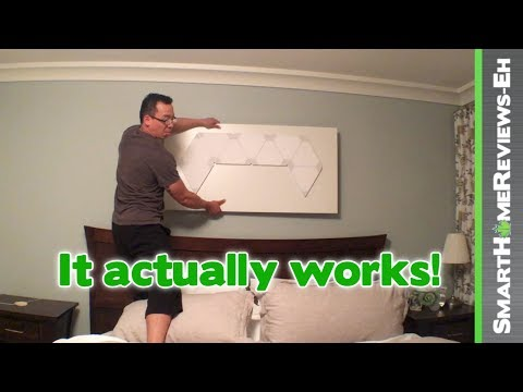 How to make the Nanoleaf Aurora PORTABLE! - Smart Home LED Light