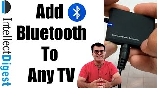 DIY | Add Bluetooth Audio To Any TV For $10 With This Bluetooth Transmitter | Intellect Digest