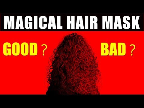 MAGICAL HAIR MASK FOR Rs. 230   GOOD OR BAD ??   Happy Pink Studio