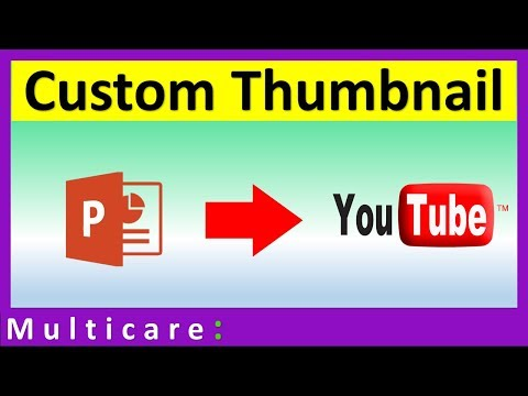 How to make thumbnail for youtube video in powerpoint