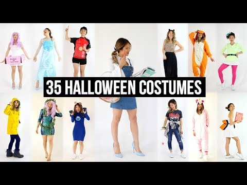 35 Last Minute DIY Halloween Costume Ideas!