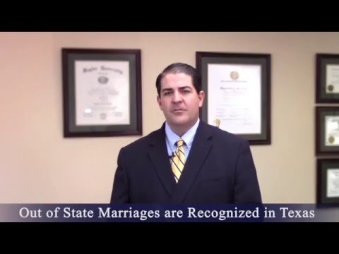 Divorce Attorney - Out of State Marriages
