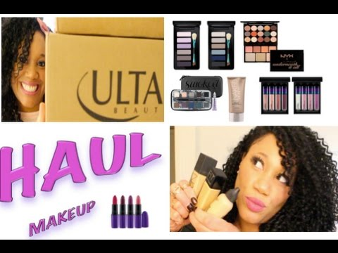 Makeup Haul 2016:  Discount Mac, Urban Decay, NYX & Ulta