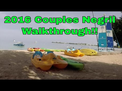 2016 Couples Resort Negril (CN) Walkthru (long) w/commentary (Negril, Jamaica)