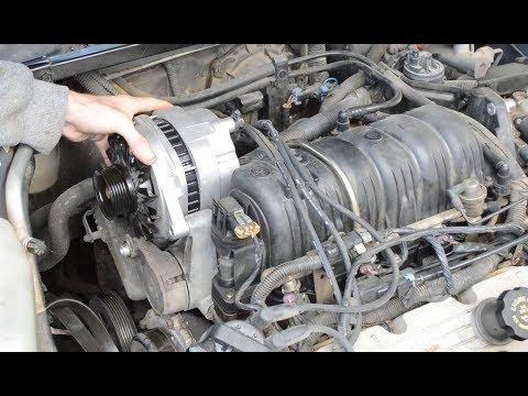 Buick LeSabre Alternator Replacement