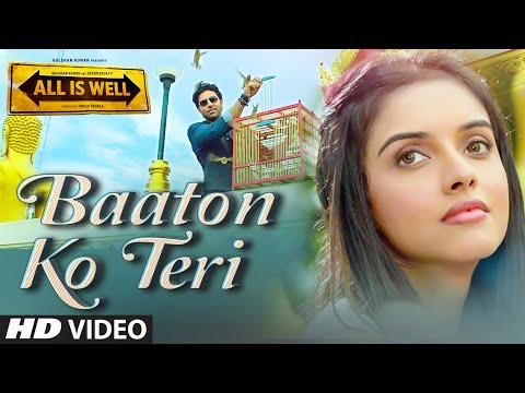 Baaton Ko Teri VIDEO Song  Arijit Singh  Abhishek Bachchan, Asin  T-Series