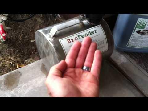 Automatic fertilizer injection