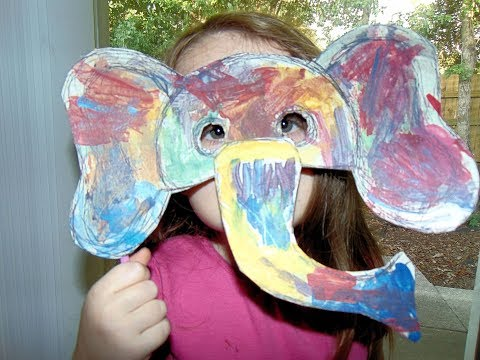 India Learns About The Festival Of Color & Paints An Elephant Mask