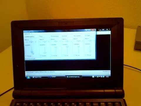 AMD eCafé Netbook runs WinXP / Vista TransformationPack, fast boot, plays HD-Clip