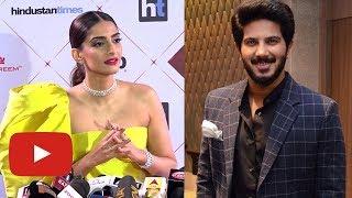Sonam Kapoor REACTS On Romancing Dulquer Salman In Zoya Factor