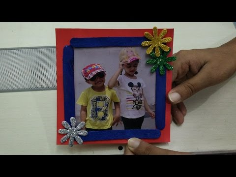 Photo Frame Making using Ice Cream Sticks| Easy Art & Craft Ideas by Sparsh Hacks