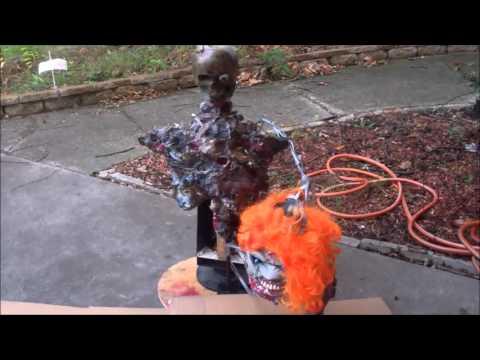 Make A Cheap Halloween Animatronic Prop Tutorial