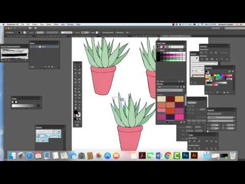 Turning our Sketches into Vector illustrations in Illustrator